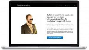 OMB masterclass website